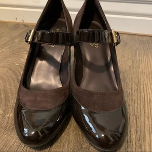 Franco Sarto mary janes two-tone 2.5inch Heel 🥰